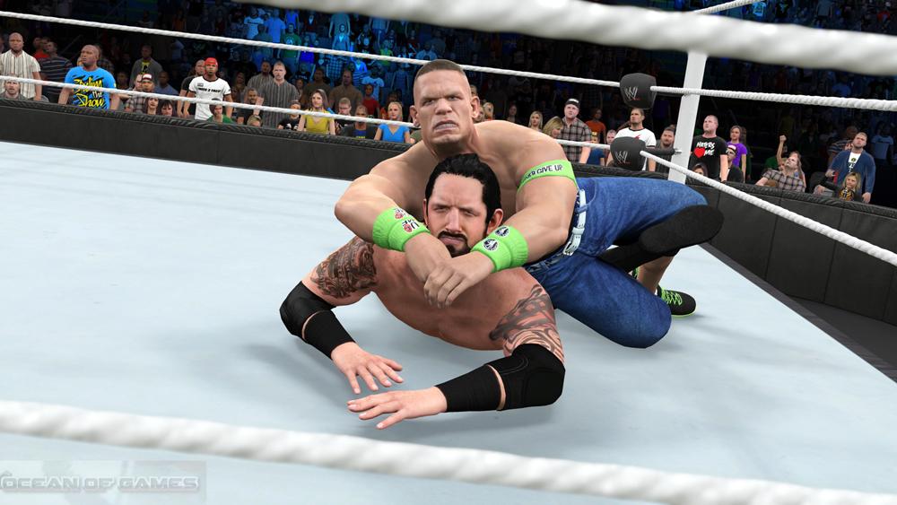 WWE 2k15 match making